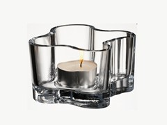 - Glass candle holder ALVAR AALTO | Candle holder - iittala