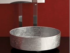 - Countertop round washbasin RHO LUX - Glass Design