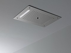 - Ceiling mounted overhead shower with built-in lights LOUNGE | Ceiling mounted overhead shower - NOKEN DESIGN