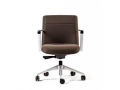 - Height-adjustable task chair with 5-Spoke base with casters CRON | Task chair with casters - ACTIU