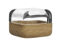 - Wood and glass storage box VITRIINI | Wooden storage box - iittala