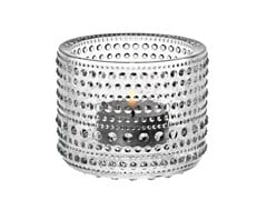 - Blown glass candle holder KASTEHELMI | Glass candle holder - iittala