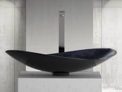 - Countertop single washbasin INFINITY STARLIGHT - Glass Design