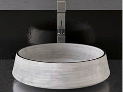 - Countertop round washbasin EXTÈ - Glass Design