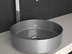 - Countertop round washbasin RHO STARLIGHT - Glass Design
