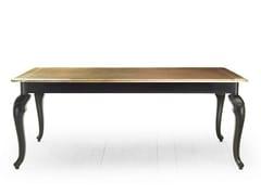 - Rectangular solid wood table RIVOLI | Wooden table - MARIONI