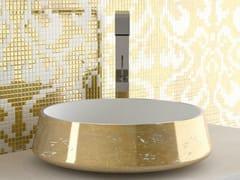 - Countertop round washbasin EXTÈ LUX - Glass Design