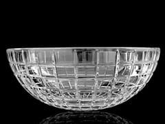 - Countertop round crystal washbasin LUXOR ROUND - Glass Design