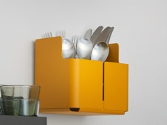 - Steel utensil holder AITIO | Utensil holder - iittala