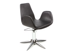 - Hairdresser chair NYSA BLACK - Gamma & Bross