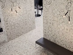 - Porcelain stoneware wall/floor tiles CEMENTINE WARM - CERAMICHE KEOPE