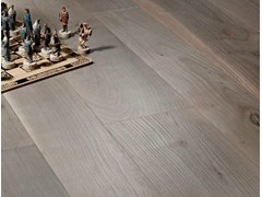 - Prefinished brushed cherry wood parquet CILIEGIO D'OTTOCENTO CORTECCIA | Cherry wood flooring - CADORIN GROUP