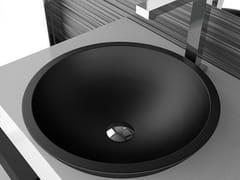 - Inset round washbasin CIRCUS 50 FL - Glass Design