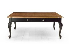- Square solid wood coffee table RIVOLI | Square coffee table - MARIONI