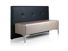 - Imitation leather bench seating with back BUBU 2 - Gamma & Bross