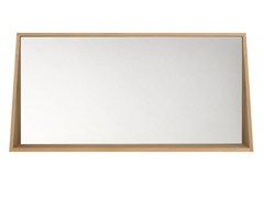- Wall-mounted framed bathroom mirror OAK QUALITIME | Mirror - Ethnicraft