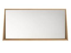 - Wall-mounted framed bathroom mirror OAK QUALITIME | Mirror - Ethnicraft