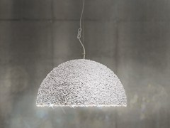 - Pendant lamp with Swarovski® Crystals THE DUCHESS MEDIUM WHITE - Mammalampa