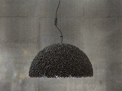 - Pendant lamp with Swarovski® Crystals THE DUCHESS MEDIUM GRAY - Mammalampa