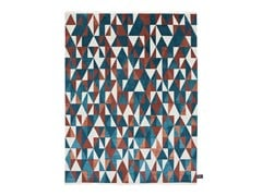 - Rectangular rug with geometric shapes DIAMOND SOIE - cc-tapis ®