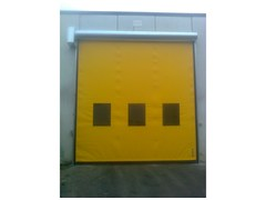 Porta ad avvolgimento rapido verticalePorte autoriparanti avvolgimento rapido - ARMO