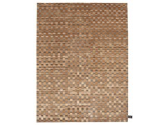 - Rectangular rug with geometric shapes DAMIER 2.0 DARK - cc-tapis ®