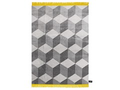 - Rectangular rug with geometric shapes INFINI - cc-tapis ®