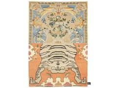 - Handmade rectangular rug CROSS(ME)NOT A - cc-tapis ®