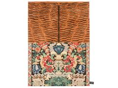 - Handmade rectangular rug CROSS(ME)NOT C - cc-tapis ®