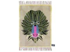 - Handmade rectangular rug BIRTH ON THE DANCEFLOOR - cc-tapis ®