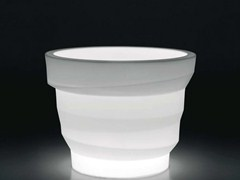 - Polyethylene vase with Light REBELOT LIGHT - PLUST Collection by euro3plast