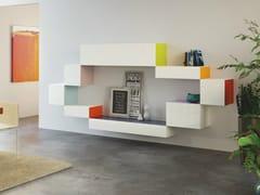 - Modular storage wall 36e8 SIDE - Lago