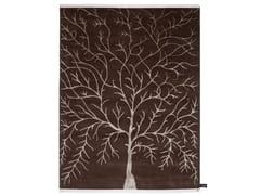 - Patterned rectangular rug ARBRE DE VIE - cc-tapis ®