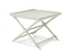 - Lacquered square side table HABANA | Lacquered coffee table - MARIONI