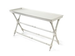 - Rectangular wooden console table HABANA | Console table - MARIONI