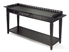 - Rectangular wooden console table with drawers MARAIS | Wooden console table - MARIONI