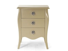 - Wooden bedside table with drawers FES | Wooden bedside table - MARIONI