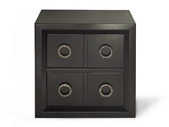 - Wooden bedside table with drawers KIEL | Wooden bedside table - MARIONI