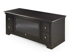 - Low wooden TV cabinet ASPEN | Wooden TV cabinet - MARIONI