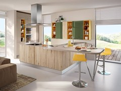 - Kitchen with peninsula SWING | Kitchen with peninsula - Cucine Lube