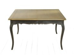 - Extending wooden living room table CITRUS | Square table - MARIONI