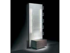 - Wall-mounted salon display unit with light GLOWALL DISPLAY ST - Gamma & Bross