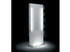 - Double-sided salon display unit with light GLOW ISLAND - Gamma & Bross