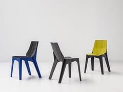 - Fabric chair POLY XOXO - Bonaldo