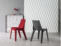 - Fabric chair POLY XO - Bonaldo