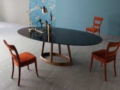 - Oval marble table GREENY | Marble table - Bonaldo