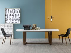 - Lacquered living room table MEDLEY | Lacquered table - Bonaldo