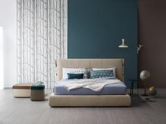 - Upholstered fabric storage bed CUFF | Storage bed - Bonaldo