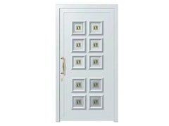- Glass and aluminium armoured door panel ALFA/K10 - ROYAL PAT