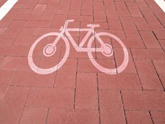 - Paving block MATTONE FOR CYCLE PATHS - PAVESMAC